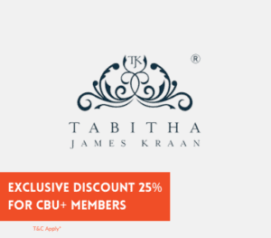Tabitha James Kraan X CBU Discount Promotion